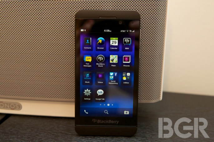 BlackBerry Z10 Secusmart Voice Encryption