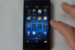 BlackBerry Z10 Video