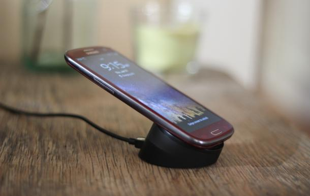 Galaxy S III Wireless Charging Hack