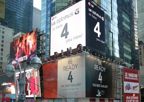 LG Times Square Billboards