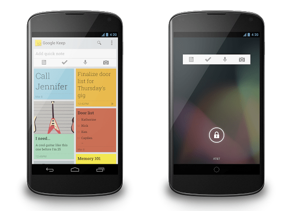 Google Keep Announced