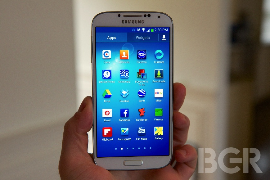 Samsung Galaxy S4 Storage Fix