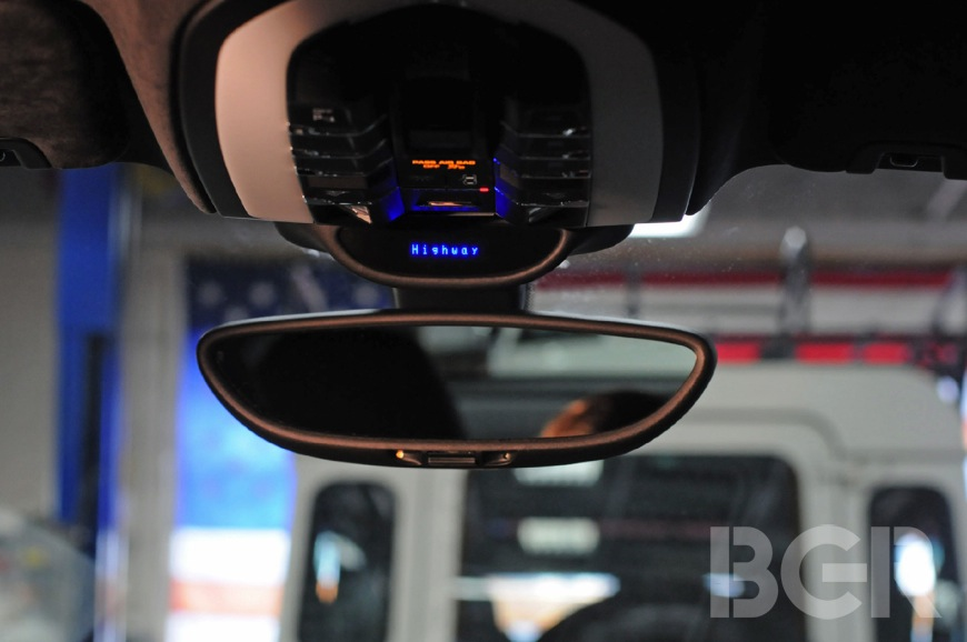 Passport 9500ci Review: radar detector, laser detector custom install