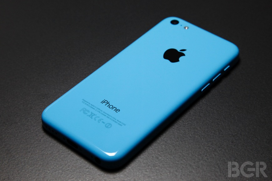 iPhone 5c Sales China Weak