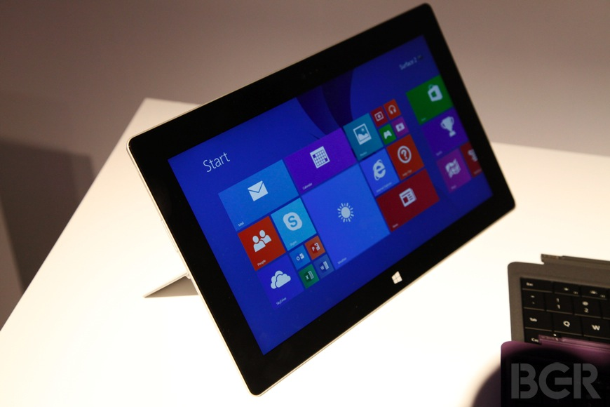 Microsoft Tablet Sales 2014