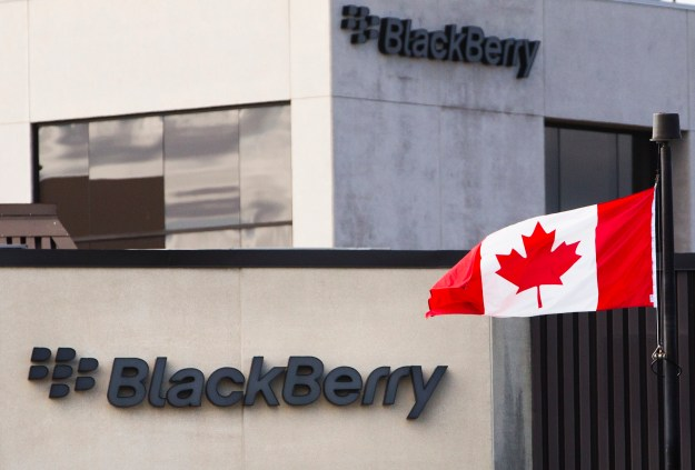 BlackBerry Lenovo Merger Canadian Government