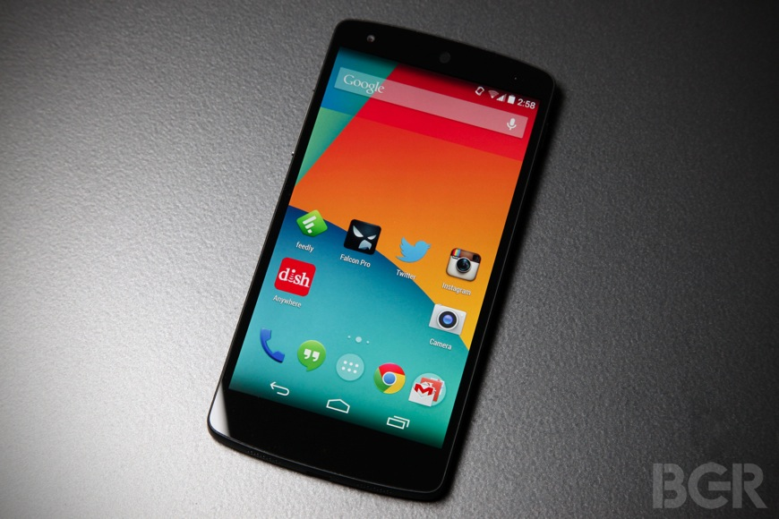 Google Nexus 5 Color