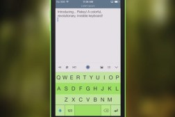 Fleksy iOS Keyboard App, SDK Download