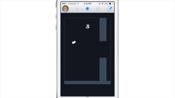 Twitterrific Flappy Bird Easter Egg