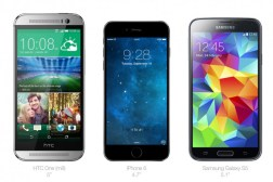 iPhone 6 vs iPhone 5s vs Nexus 5 vs Galaxy Note 3