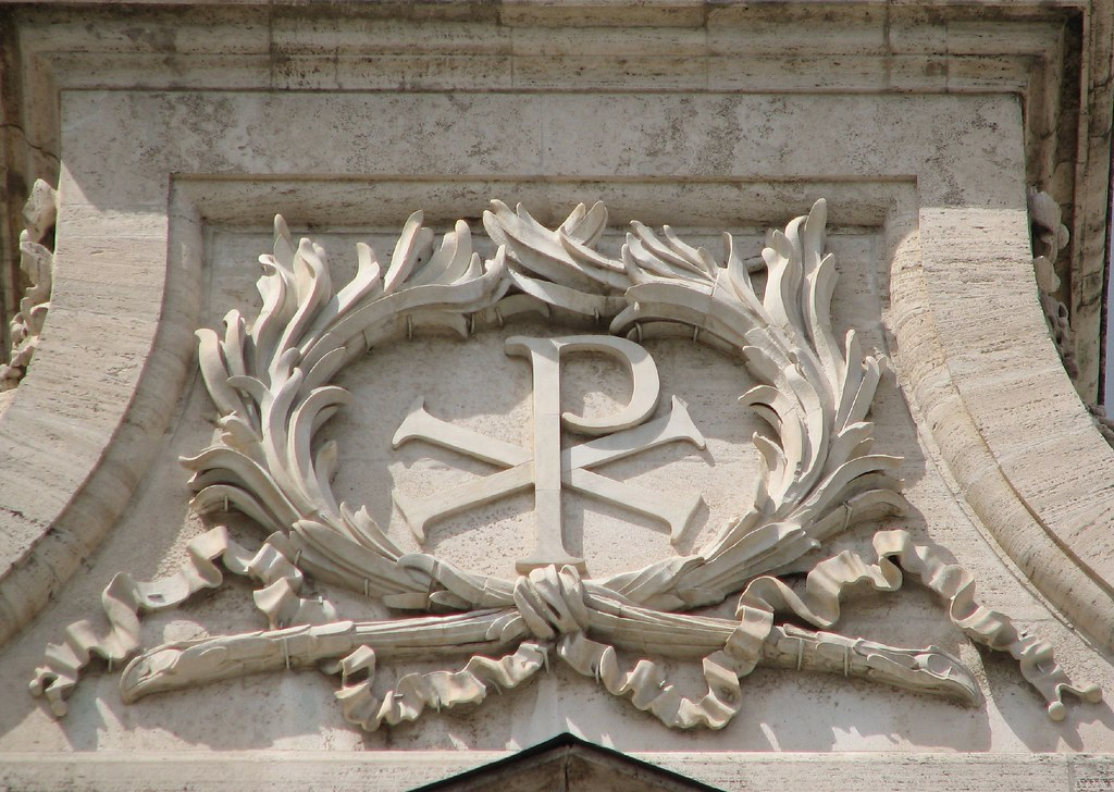 3d P Letter Wallpaper Chi Rho Labarum Is The Name By Which The Military