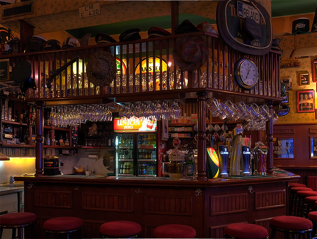 3d Wallpaper Pinterest A Pub Interior Guinness Pub Ljubljana One More For
