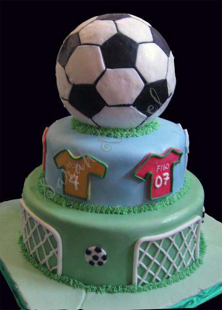 Birthday Cake Wallpaper 3d Joaquin S Soccer Themed Cake Perfect Cakes Flickr