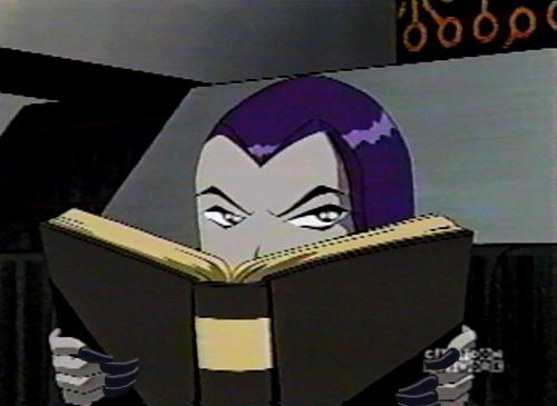 Free 3d Pictures Wallpapers Raven Reading Raven Getting Irritated With Someone While