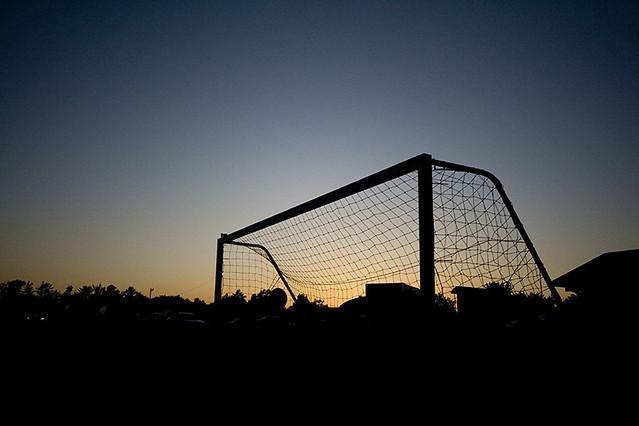 Cute And Wallpapers Soccer Sunset Soccer Goal At Sunset Luke Flickr