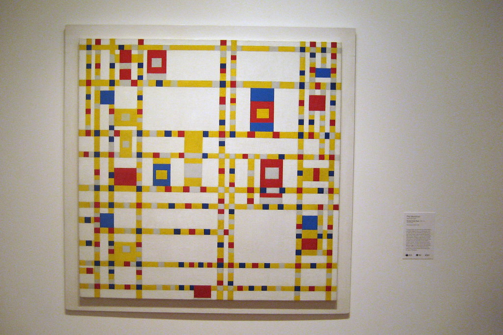Moma New York Nyc - Moma: Piet Mondrian's Broadway Boogie Woogie | Flickr