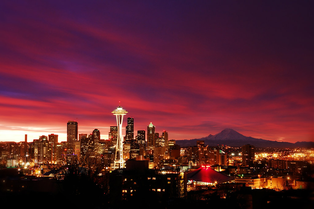 N 3d Wallpaper 7 12 Am Seattle From Kerry Park Sunday Morning I Got