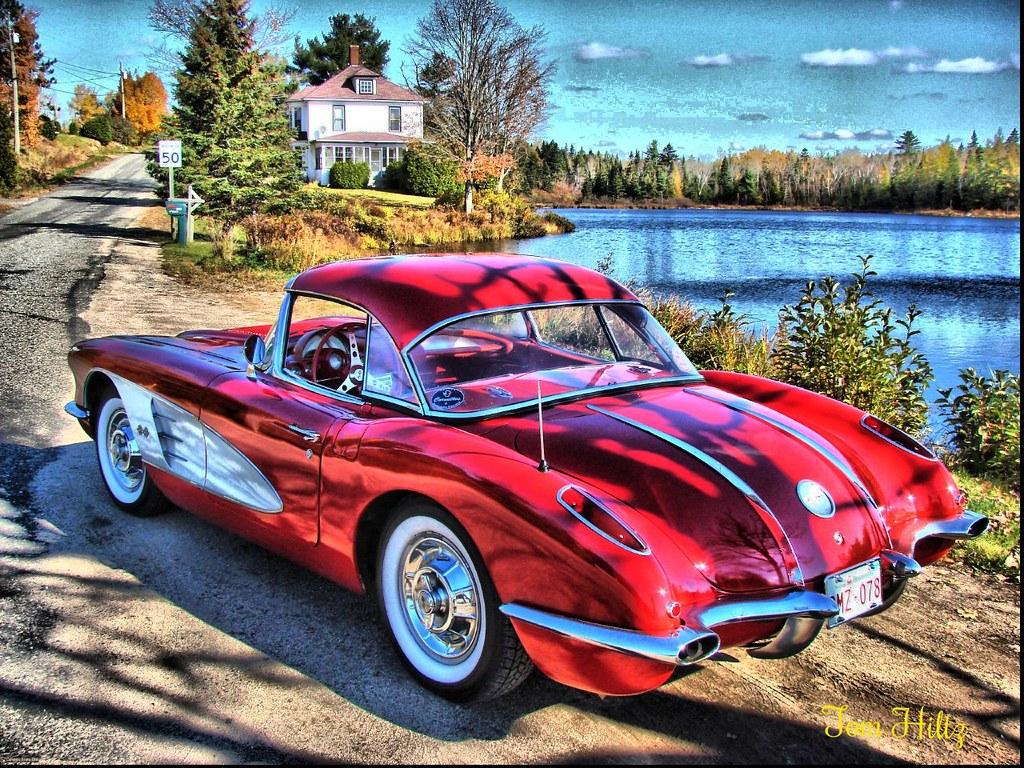 Car Hdr Wallpaper 58 Corvette The Good Old Days Photo Taken In Harvey Nb