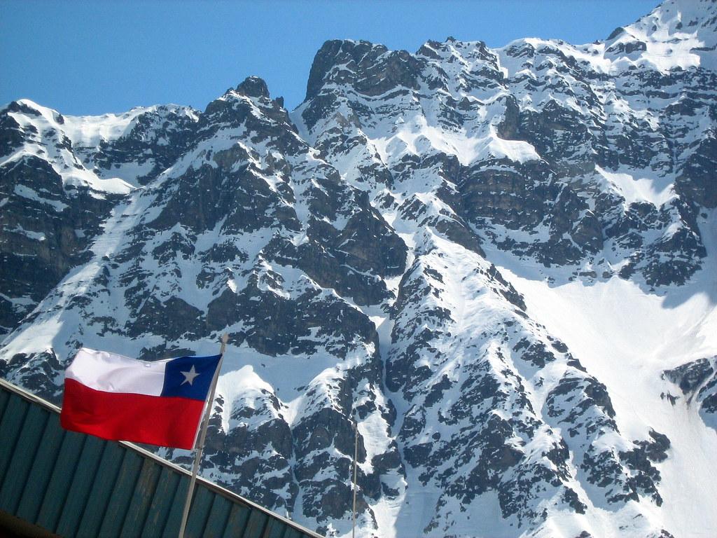 3d World Wallpaper World Los Andes Y Nuestra Bandera De Regreso En Chile