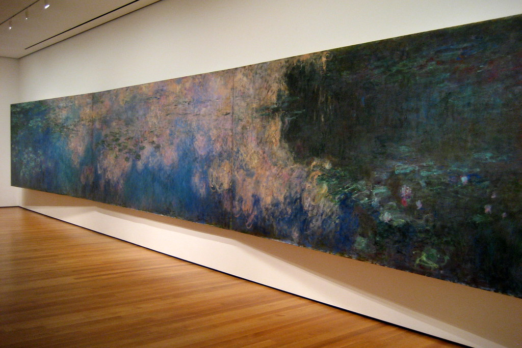 Moma Museum Nyc - Moma: Claude Monet's Reflections Of Clouds On The Wa
