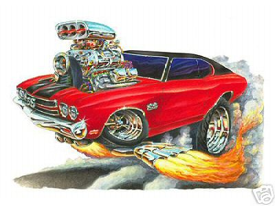 Custom Wallpaper 3d 1970 Chevelle Cartoon Silvester Humaj Flickr