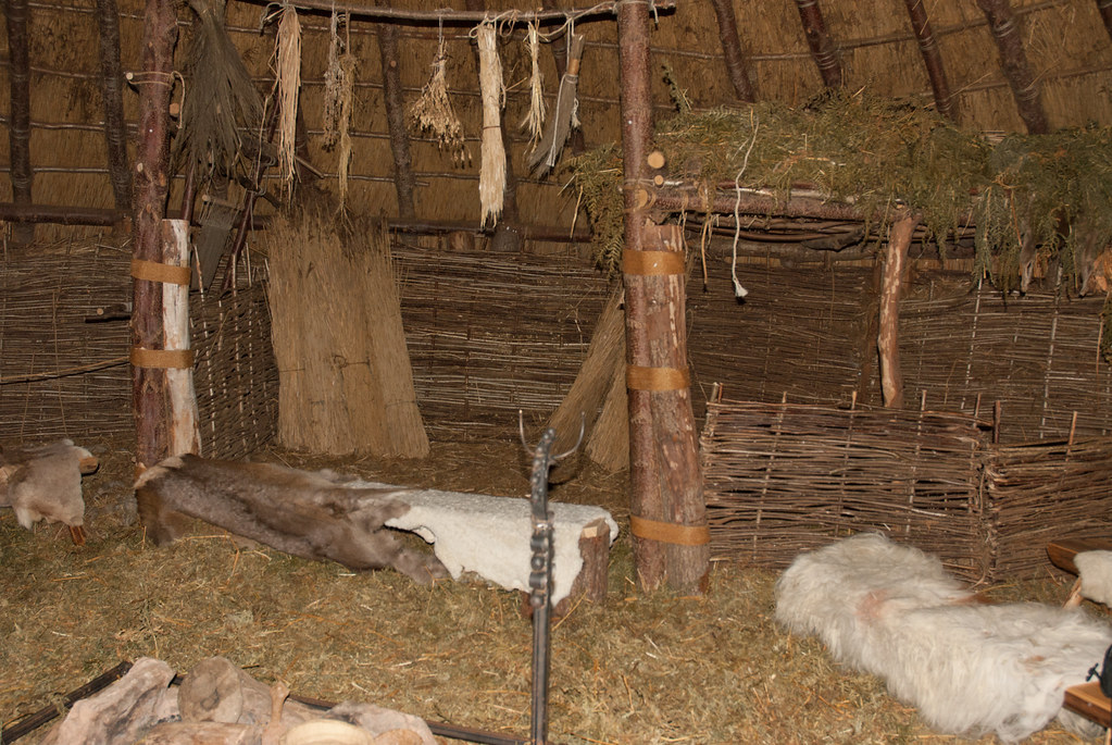 Interior Blog Interior Of Crannog | The Raised Platform Was Used As A