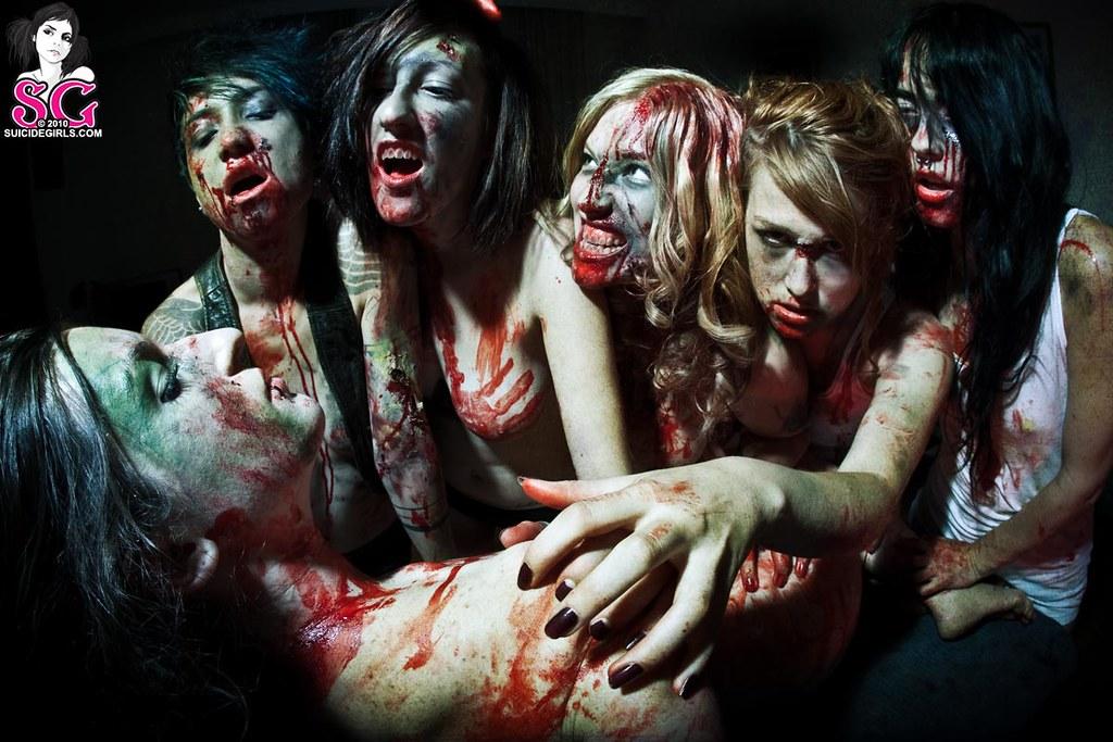 Boy Kick Girl Wallpaper Suicidegirls Z I L F Zombie I D Like Fuck Feat