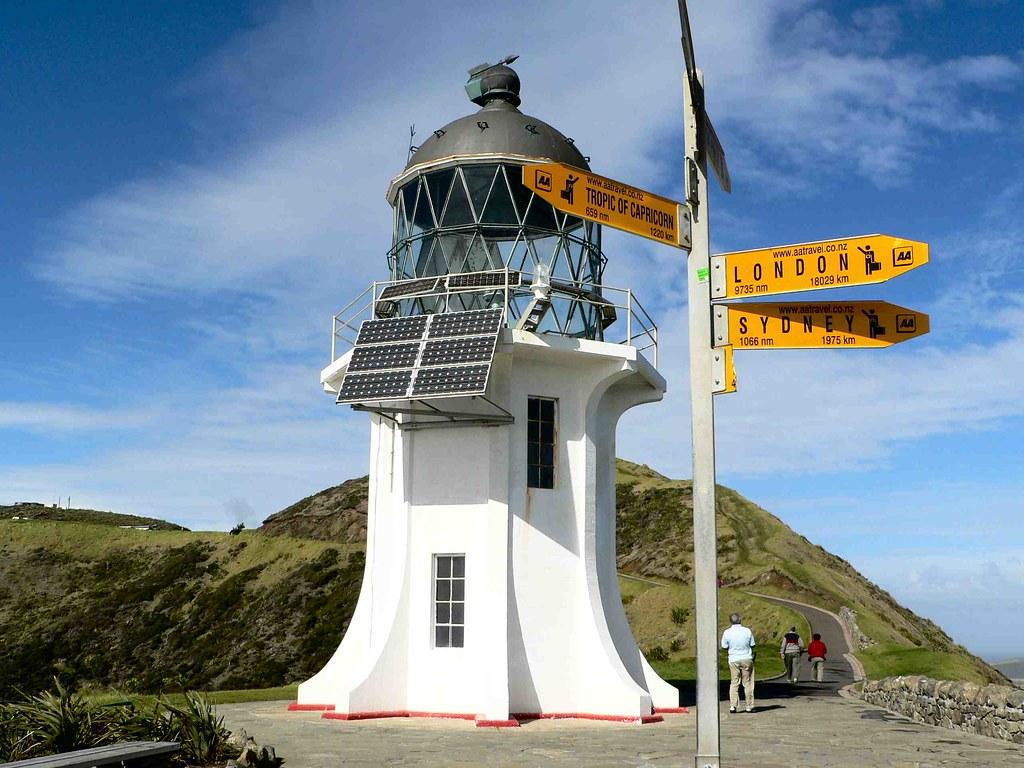 3d Scenery Wallpaper For Desktop Cape Reinga Far North New Zealand Cape Reinga