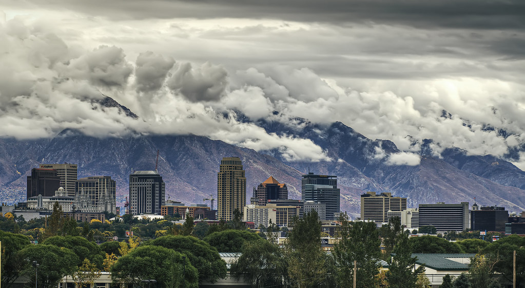 Storm City Wallpaper Hd 3d Salt Lake City Skyline On Our Way Back From The