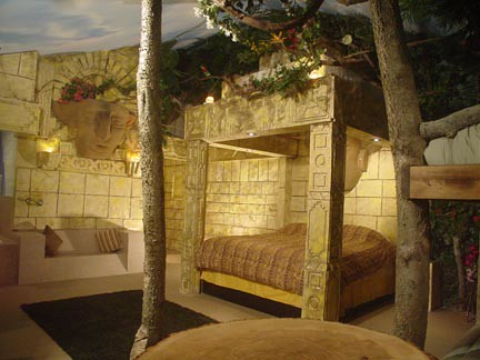 3d House Wallpaper Aztec Jungle Theme Spa Suite If You Are Looking For