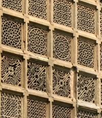 Ahmedabad - Sidi Saiyed ni jaali | detail of a jharokha ...