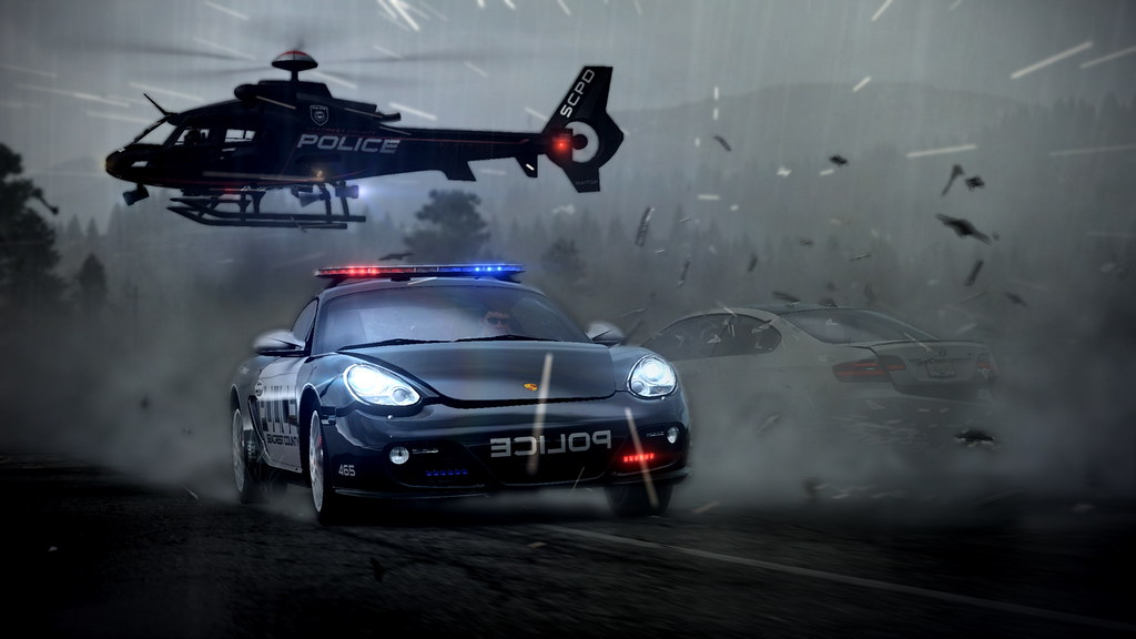 Police Car Chase Wallpaper Need For Speed Hot Pursuit Hits Ps3 Today Need For Speed