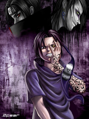 Orochimaru Wallpaper 3d Sasuke And The Curse Mark Sasuke Don T Let The Curse