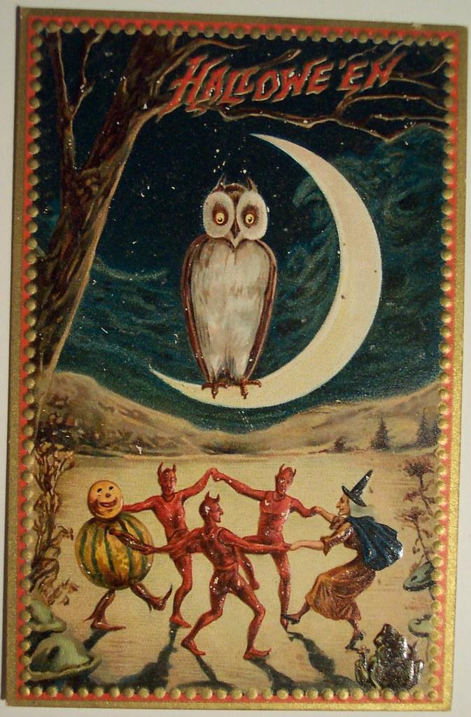 Halloween Girl Wallpaper Vintage Halloween Postcard Tuck Halloween Series No 160