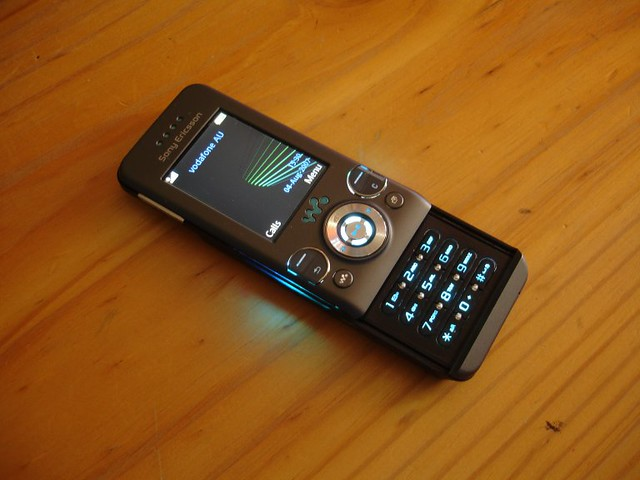 Sony Phone Vr Sony Ericsson W580i 4th August 2007 This Is A New