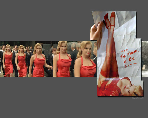 3d Girl Image Wallpaper The Matrix Lady In Red Wallpaper Flickr Photo Sharing