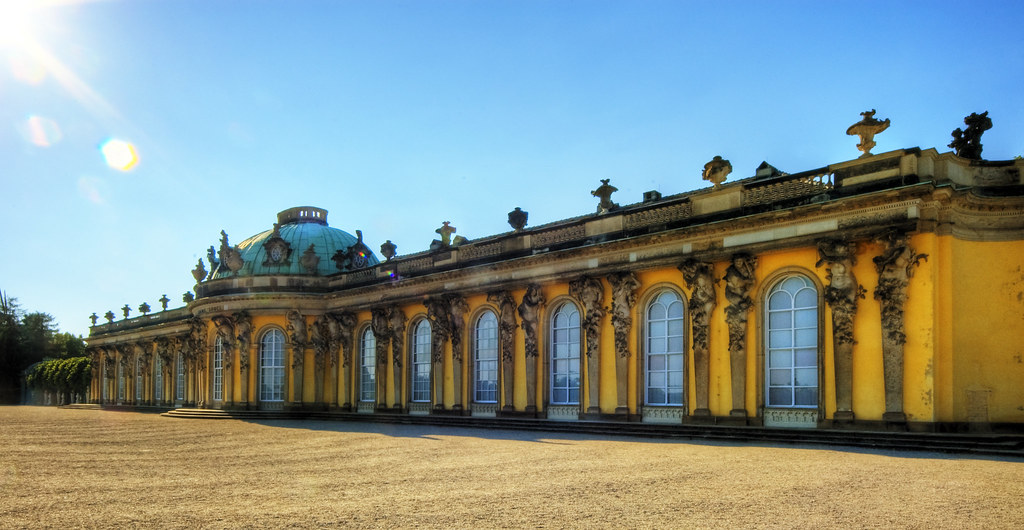 French Villa Potsdam Schloss Sanssouci | Get The Large View! Sanssouci
