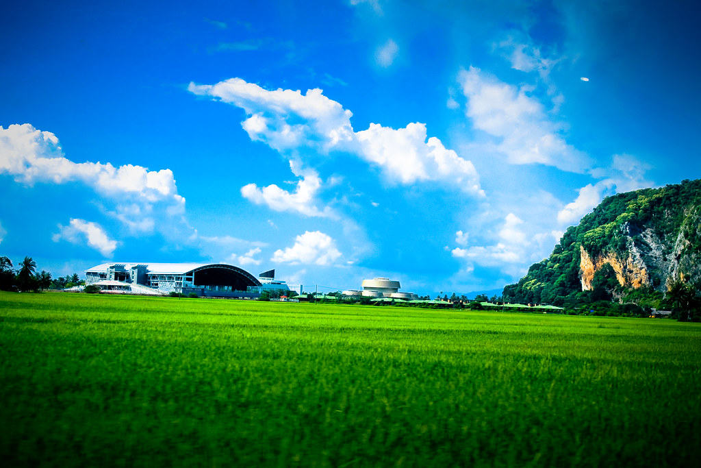 3d World Wallpaper World Sawah Padi Syafiq M Flickr