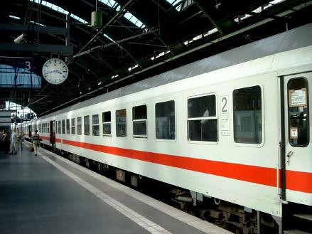 3d World Wallpaper World Private Carriage 2nd Class Deutsche Bahn Inter City Trai