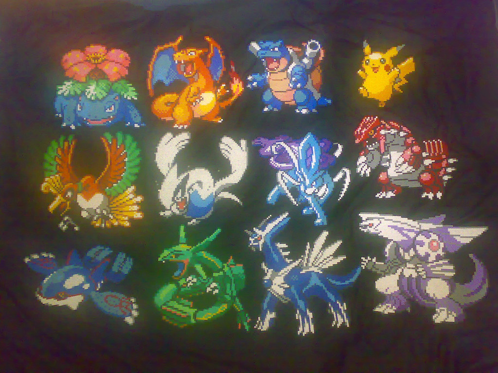 Pokemon Wallpaper Black And White Hama Mascot Pokemon Collection All Up To Date Ever