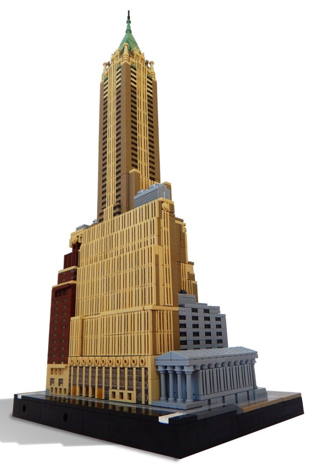 40 Wall St Built With Lego Trumps The Real Thing The