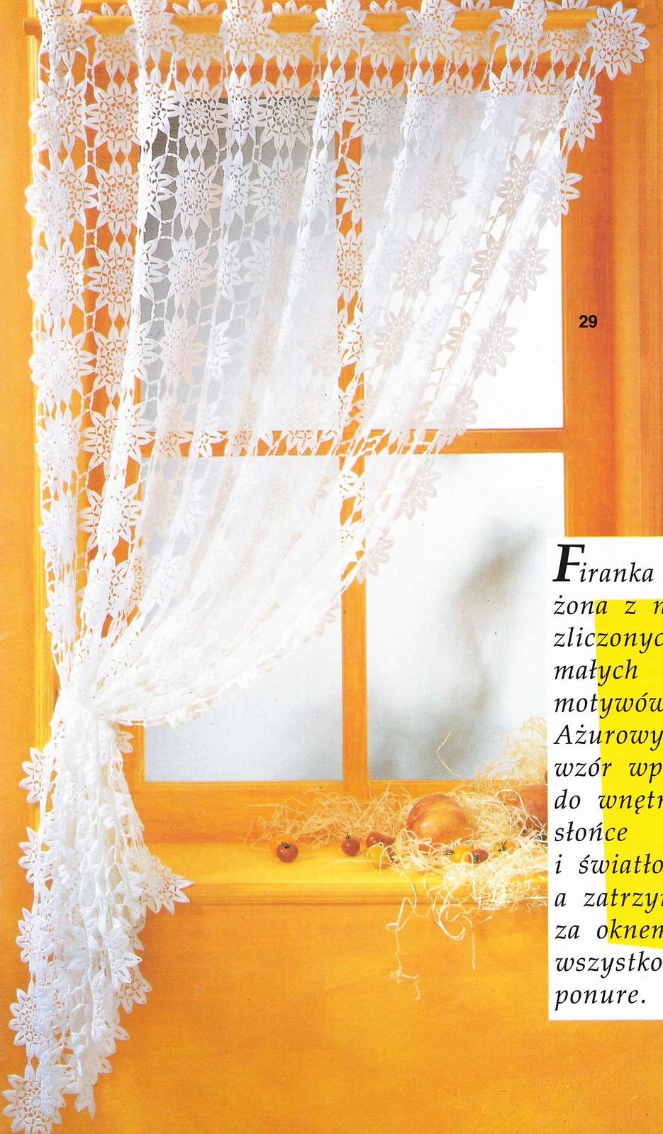 rideau cuisine diy crochet rideaux brise bise le blog de crochet et tricot d art de. Black Bedroom Furniture Sets. Home Design Ideas