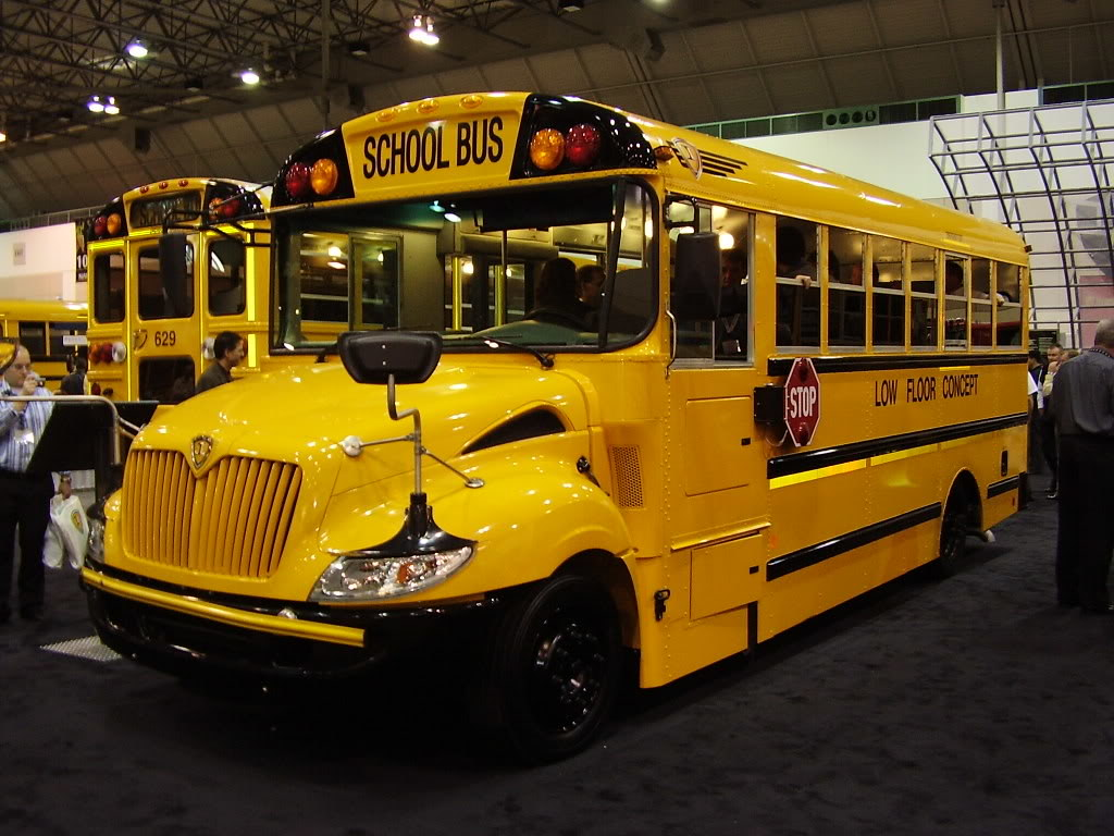 New 2017 Ic Ce Low Floor School Bus This Is A Futuristic