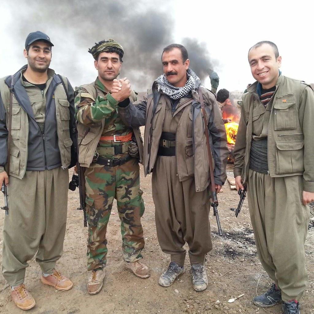 Army 3d Wallpaper Pkk Amp Puk Peshmerga In Kirkuk Kurdishstruggle Flickr