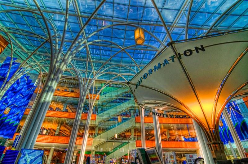 Indianapolis public library, Indianapolis, USA. Image credit Serge Melki.