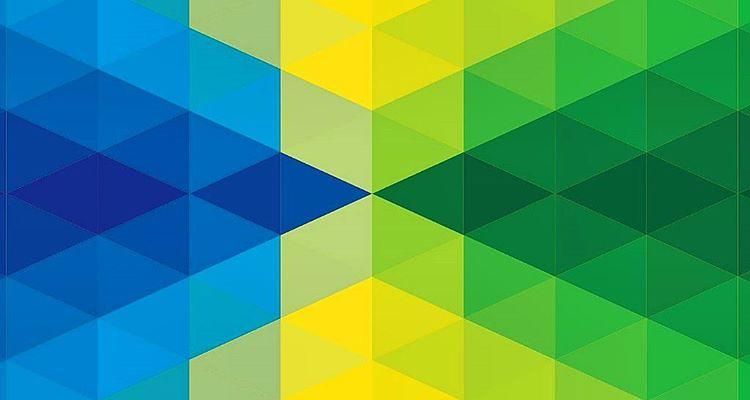 Wallpaper Abstrak 3d My New Blue Amp Yellow Amp Green Wallpaper Www Danielangel