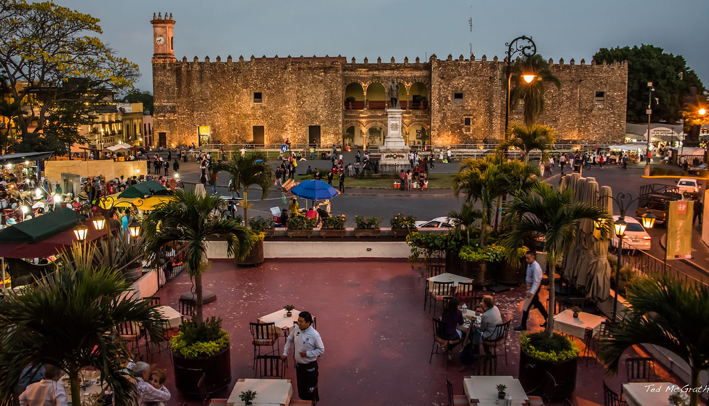 3d Palace Wallpaper 2016 Mexico Cuernavaca Cortes Palace At Dusk After