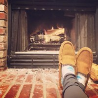 Wood-burning fireplace with gas starter: best home improve ...