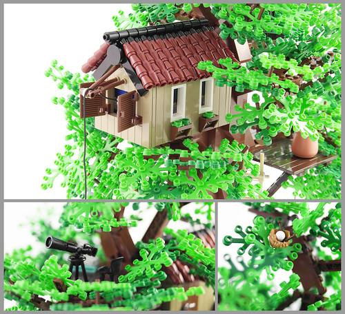 My Tree House (Up Close) by Jonas