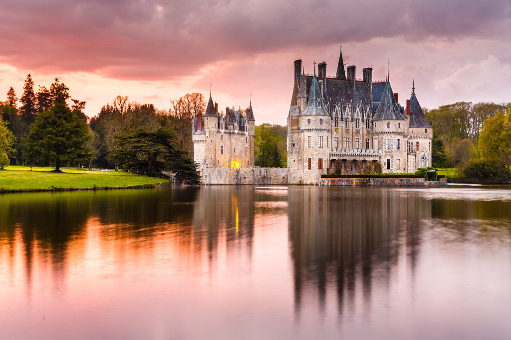 3d Wallpaper Pinterest A Castle In Brittany Le Ch 226 Teau De La Bretesche This Is